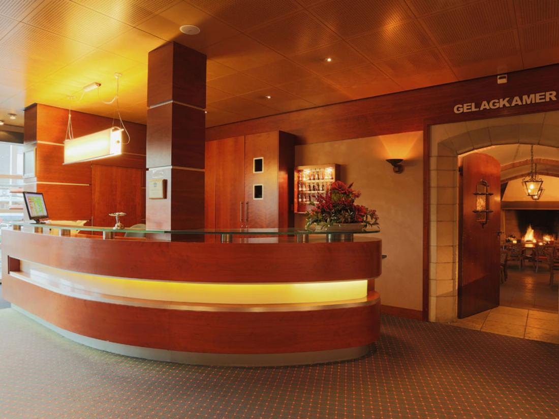Hotel de Zwaan receptie