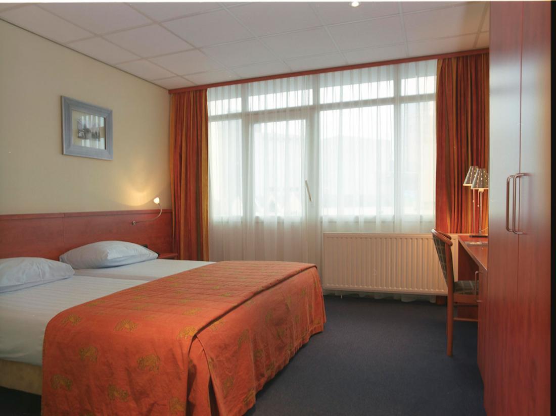 Hotel de Zwaan hotelkamer