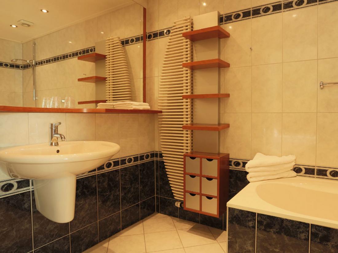 Hotel de Zwaan badkamer