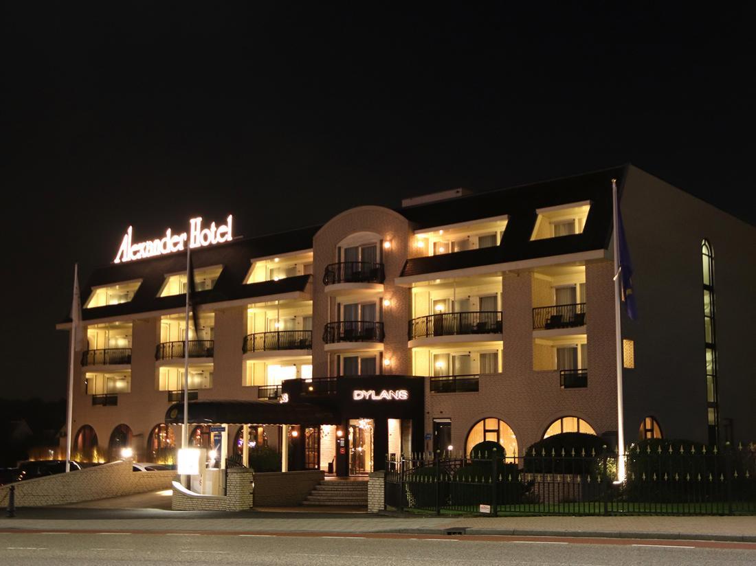 Weekendje weg Noordwijk Alexander hotel aanzicht