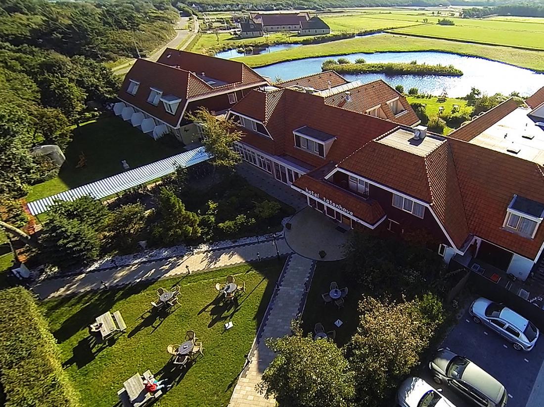 Landgoed Hotel Tatenhove De Koog Bovenaanzicht
