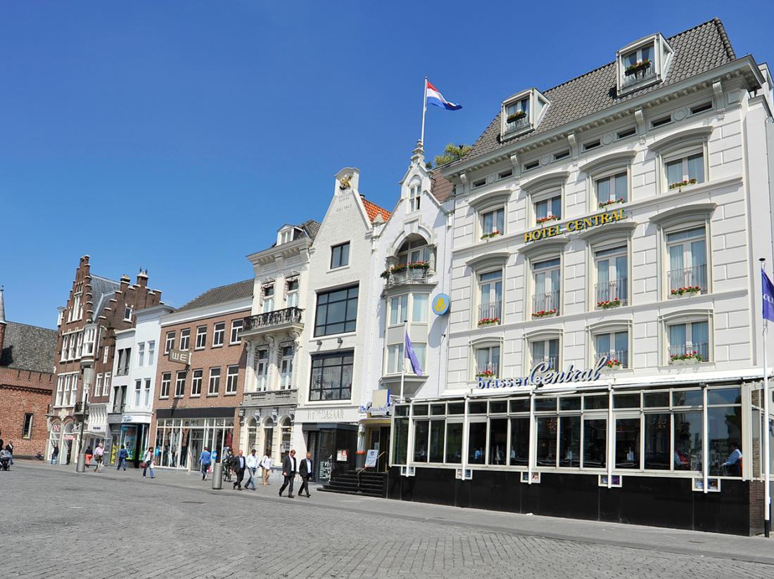 Golden Tulip Hotel Central Den Bosch Voorzijde